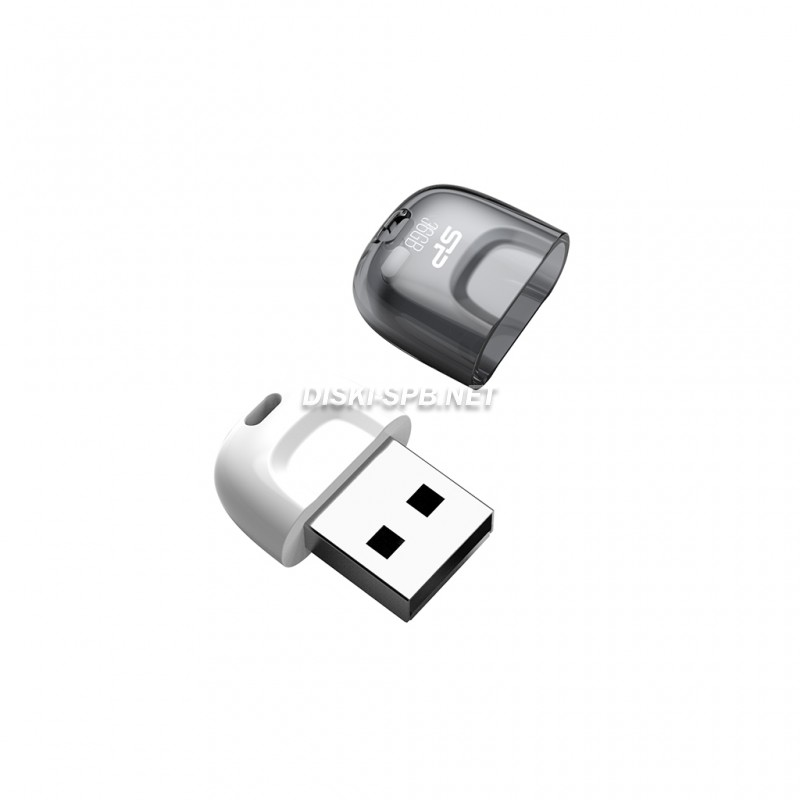 USB флэш-диск 32GB, USB 2.0, Silicon Power, Ultima U03, White
