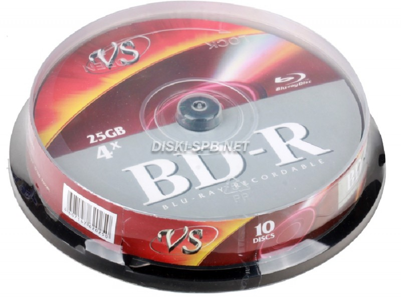 DVD+RW диск 4x 4.7 Gb VIDEX, Slim