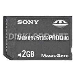 Карта памяти 2Gb MemoryStick PRO DUO Mark2, Sony