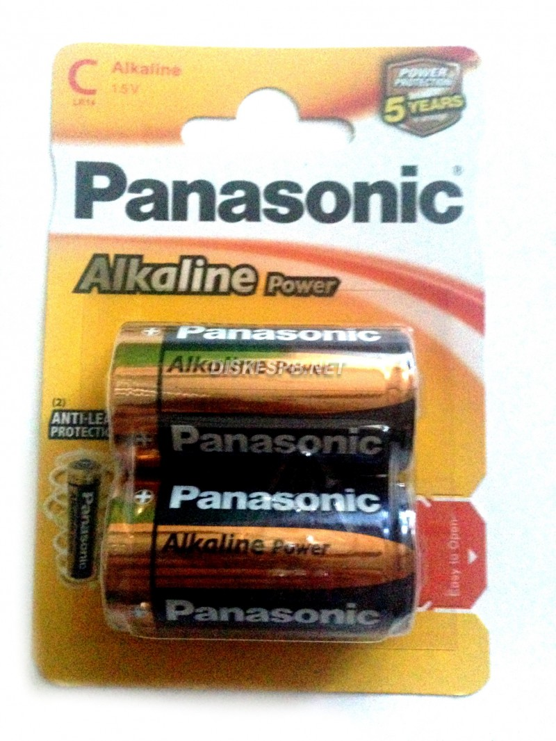 Батарейка алкалиновая Panasonic Powerline AAA LR-03, 4 без блистера